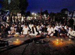 Anti-lankan protest led by politician and activist Vaiko in Tamil Nadu.Photo onlanka.com